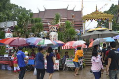 Parade Thailand traditional ghost festival Stock Images