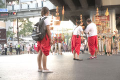 Parade to promote traveling in Thailand Stock Photography