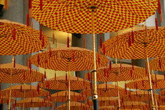 Parade umbrellas Brunei Stock Photos