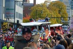 2013 Parade van de de Wereldreeks van Boston de Rode Sox Royalty-vrije Stock Afbeelding