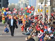 Parade van de Kerstman van Toronto de 108ste Royalty-vrije Stock Afbeelding