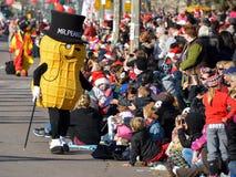 Parade van de Kerstman van Toronto de 108ste Royalty-vrije Stock Foto's