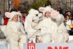 Parade van de Kerstman van Toronto de 108ste Royalty-vrije Stock Fotografie