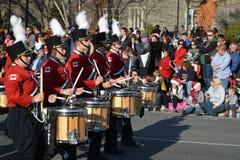Parade van de Kerstman van Toronto de 108ste Stock Foto
