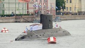 Parade van de Marine in St. Petersburg Stock Foto's