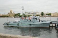 Parade van de Marine in St. Petersburg Royalty-vrije Stock Foto's