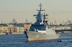 Parade van de Marine in St. Petersburg Stock Afbeeldingen