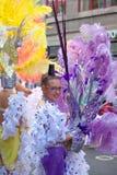 Parade van Las Palmas de hoofdcarnaval Royalty-vrije Stock Afbeelding