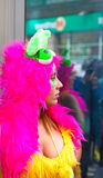 Parade van Las Palmas de hoofdcarnaval Stock Fotografie