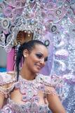 Parade van Las Palmas de hoofdcarnaval Royalty-vrije Stock Foto