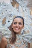 Parade van Las Palmas de hoofdcarnaval Royalty-vrije Stock Afbeeldingen
