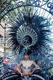 Parade van Las Palmas de hoofdcarnaval Stock Foto's