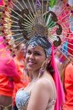 Parade van Las Palmas de hoofdcarnaval Royalty-vrije Stock Foto's