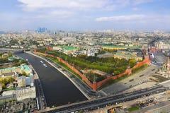 Parade van overwinningsdag in Moskou het Kremlin royalty-vrije stock foto