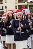 Parade van Santa Claus Royalty-vrije Stock Afbeelding