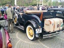 Parade van uitstekende auto's Royalty-vrije Stock Afbeeldingen