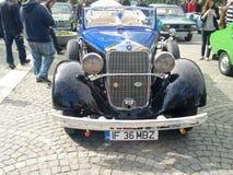 Parade van uitstekende auto's Royalty-vrije Stock Foto