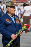 Parade victory at Kiev, Ukraine Stock Photography