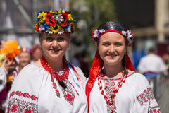 Parade Victory on May 9, 2013 Kiev, Ukraine Royalty Free Stock Photo
