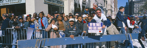 Parade for World Series Champions Royalty Free Stock Photography