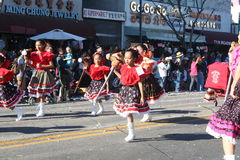 Paradedansers Stock Afbeelding