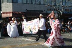 Paradedansers Royalty-vrije Stock Fotografie