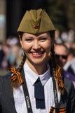 Paradeoverwinning in Kiev, de Oekraïne Stock Afbeelding