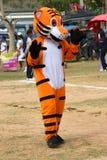 Parader in het lokale seizoen van het sportenfestival Royalty-vrije Stock Fotografie
