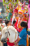 Parades of Poy-Sang-Long Festival in Northern of Thailand. Royalty Free Stock Photo