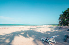 Paradies beach by Park National Tayrona in Colombia Stock Photography
