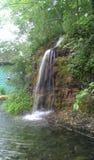 Paradies-Bucht-Wasserfall Stockfoto