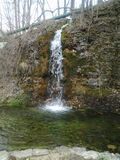 Paradies-Bucht-Wasserfall Stockfotografie