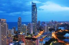 Paradies des Surfers in Australien Stockbilder