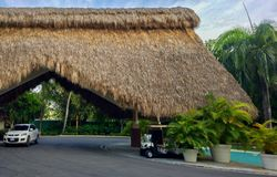 Paradies HOTEL Lizenzfreie Stockfotografie