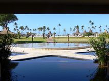 Paradies HOTEL Stockfoto