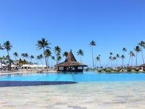 Paradies HOTEL Stockfotografie