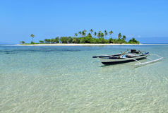 Paradies-Insel Stockbild