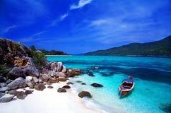 Paradies-Insel, Andaman Meer, Thailand Stockfotos