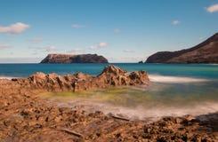 Paradies-Insel Porto Santo Stockbild