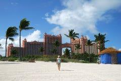 Paradies-Insel-Rücksortierungen Stockfotografie