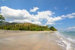 Paradies an lombok Strand, Indonesien stockbild