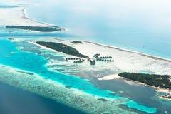 Paradies-Palmen-Insel Lizenzfreies Stockbild