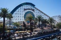 Paradies-Pier an Kalifornien-Abenteuer Stockbild