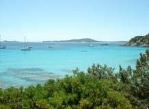Paradies in Sardinien Lizenzfreies Stockbild