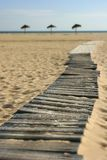 Paradies-Strand Acess Stockfoto