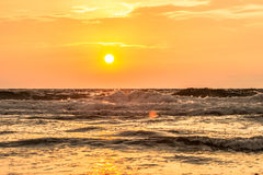 Paradies-Strand-Sonnenaufgang Lizenzfreie Stockfotografie