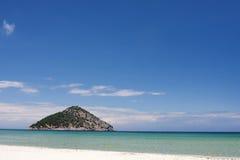 Paradies-Strand, Thassos Insel stockfoto