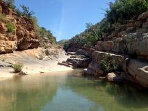Paradies-Tal nahe Agadir Stockbild