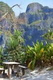Paradies in Thailand stockfoto