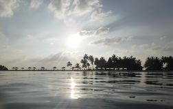 Paradies vom Meer lizenzfreie stockfotos